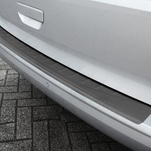 VW Transporter T6 T6.1 Black Stainless Steel Bumper Protector