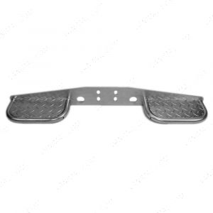 Universal towing rear step for vans