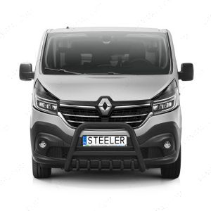 Renault Trafic Mk3 Black Front Styling A-Bar 2014-