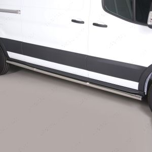 Stainless Steel Side Bars For Ford Transit