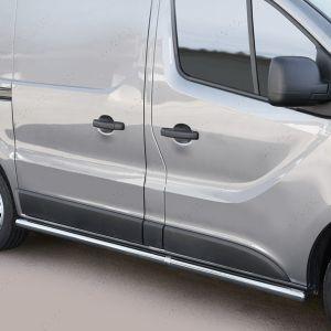 Nissan Primastar Polished Side Bars Tubes