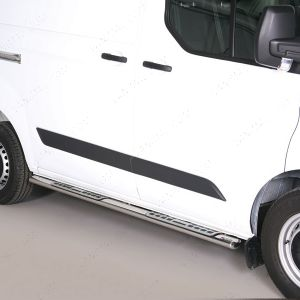 Ford Transit Custom L1 SWB Mach Stainless Steel DSP Side Steps