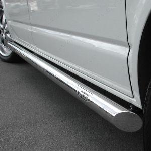 VW Transporter T5 T5.1  2003-2015 SWB Side Bars No Step and Slash Ends