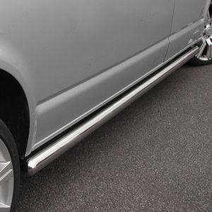 VW Transporter T5 T 5.1 T6 T6.1 LWB Stainless Steel Side Bars