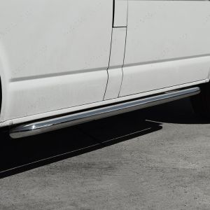 VW T5 T5.1 SWB Stainless Steel Side Bars - No Step