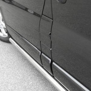 Vauxhall Vivaro 2/3 Lwb Stainless Steel Side Rails