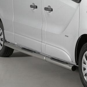 Vauxhall Vivaro LWB Hand Polished Side Steps 2014-2019