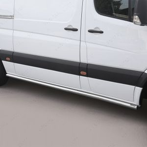 Stainless Steel Side Bars For Sprinter Van
