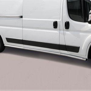 Citroen Relay LWB Polished Stainless Steel Side Bars Misutonida