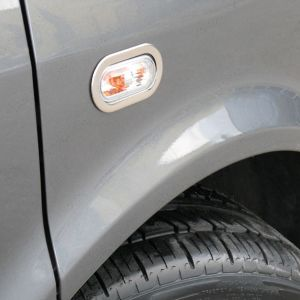 VW T5 Transporter Stainless Steel Side Lamp Light Styling Surrounds