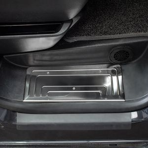 VW Transporter T5 2003-2015 Stainless Steel Door Sill Guards 3Pce