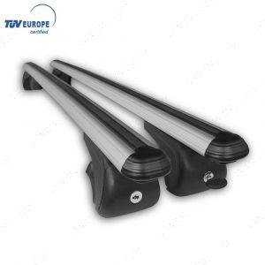 Volkswagen Caddy - Silver Cross Bars Roof Rails