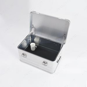 Small Aluminium Storage And Tool Box - L570mm X W380mm X H280mm