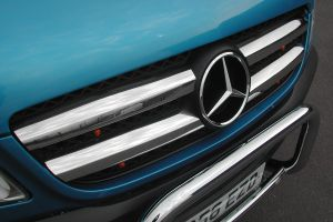 Mercedes Sprinter 3 Stainless Steel Front Grille Cover Kit