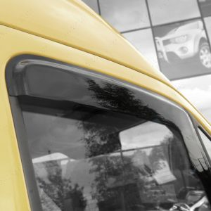Volkswagen Crafter 2006 On Wind Deflectors 2pc Trux Adhesive Fit