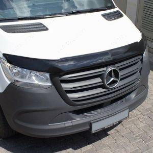 Mercedes Sprinter 2018- Black Bonnet Guard
