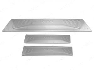 Mercedes Vito W447 2014 On Stainless Steel Sill Guards 3 Pce