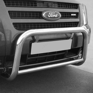 Ford Transit Mk7 06 On Stainless Steel Low A-Frame Bar 60Mm
