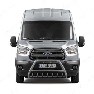 Ford Transit Mk8 Stainless Steel Front A-Bar