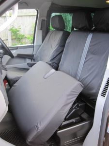 VW Transporter Tailored Waterproof Front Seat Covers (Single and Twin Seat)