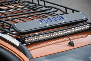 Expedition Style Predator Alloy Roof Rack