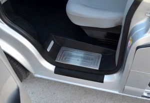 Vw T5 Multivan Stainless Steel Sill Guards 4 Pce