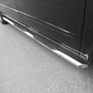 Mk3 Mercedes Vito And Viano Stainless Steel Side Bar + Step