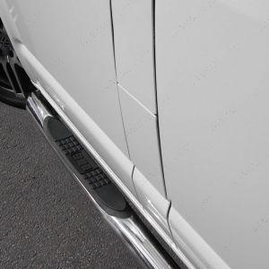 VW Transporter T5 T5.1 T6 T6.1 SWB Polished Side Steps