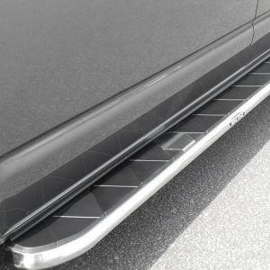 VW Transporter T5 T5.1 T6 T6.1 SWB Stainless Steel Side Steps