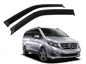 Mercedes-Benz Vito Viano 2014 on Wind Deflectors Adhesive Fit