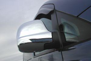 Mercedes Vito Mk2 Full Mirror Cover Set Stainless Steel