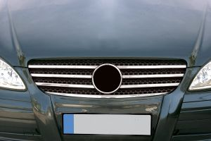 Mercedes Vito W639 2003-2010 Stainless Steel Grille Trim Kit 7Pce