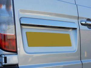 Mercedes Vito W639 1996-2014 Stainless Steel Rear Door Trim