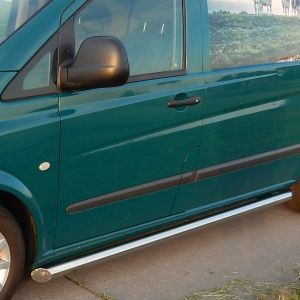 Mercedes Vito & Viano Stainless Steel Side Bars