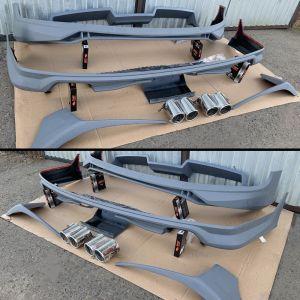VW Transporter T6 ABT Style Body Kit In Primer Grey