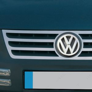 VW Caddy Mk3 Stainless Steel Front Grille 2004-2010