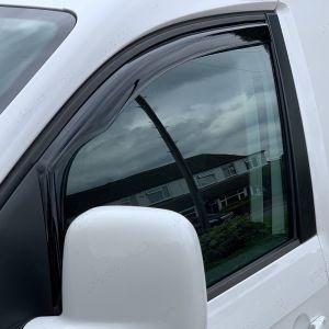 VW Caddy 2016 on In Channel Wind Deflectors