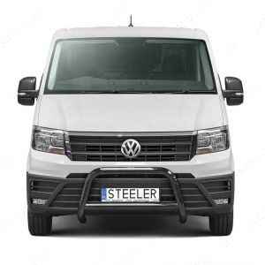 VW Crafter Black A-Bar With Axle Guard 2017-