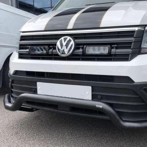 VW CRAFTER 2017 ON LOW SPOILER BAR BLACK
