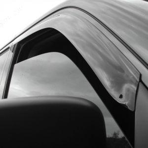 VW T5 Multivan 2003 onwards Wind Deflectors 2pc Trux Adhesive Fit