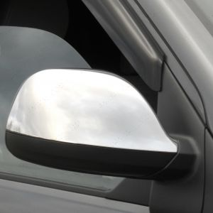 VW Transporter T5.1 Stainless Steel Mirror Covers 2003-2015