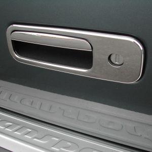 VW Multivan T5 2010-2015 Stainless Steel Rear Door Handle Covers 2Pce