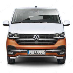 VW Transporter T6.1 Front Spoiler Styling Bar Dec 2019-
