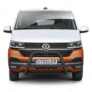 Black Front A-Bar with Axle Bars for Volkswagen Transporter T6.1 (2019-)