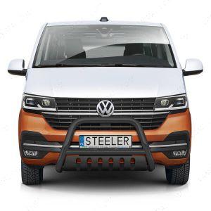 VW Transporter T6.1 Black Front Styling A-Bar 2019-
