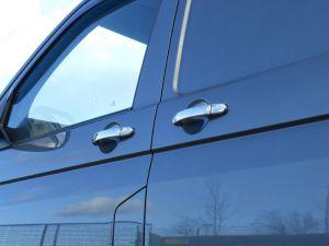 Vw T5 Multivan 2010 On Stainless Steel Handle Protector Covers 3 Door