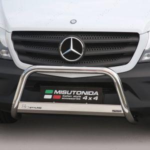 Mercedes Sprinter 2014 Facelift EU Approved A-Bar Stainless Steel