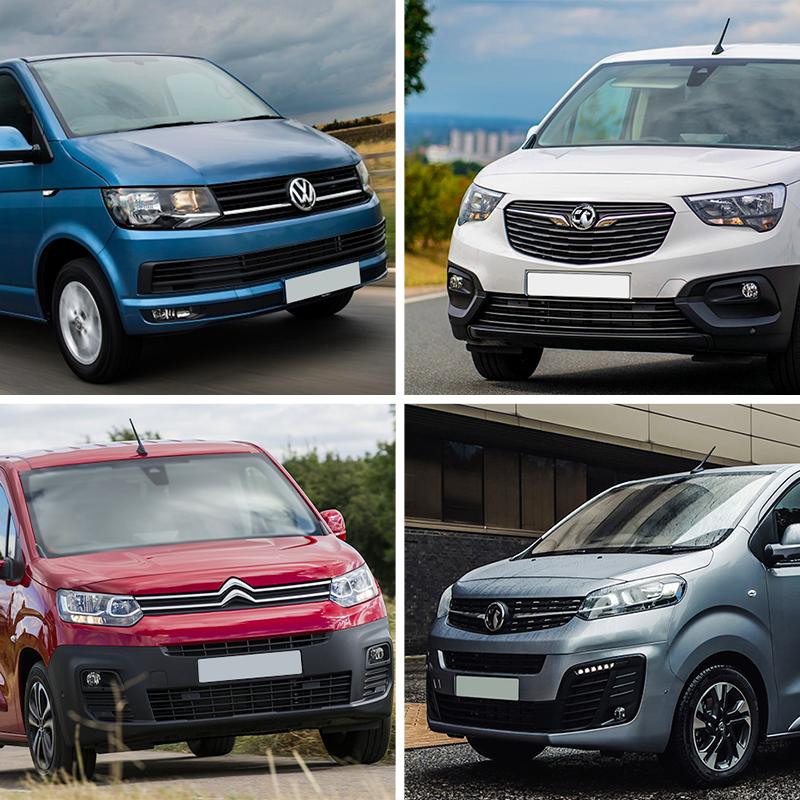 UK's Top 10 Best-Selling Vans in 2021