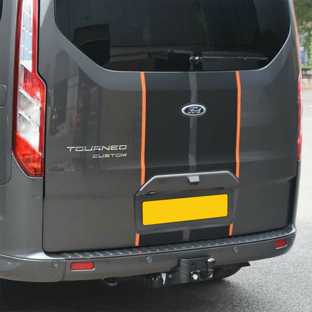 Tow bar fitted on to a Transit Custom