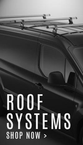 Commercial van roof bars, racks and rails